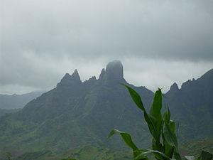 São Lourenço dos Órgãos, Cape Verde - The second main peak of Órgaos