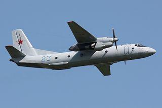 2018 Russian Air Force Antonov An-26 crash