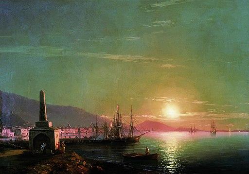 Восход солнца в Феодосии Айвазовский