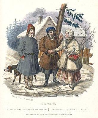 Litvin - Image: Литвины из альбома Яна Левицкого 2