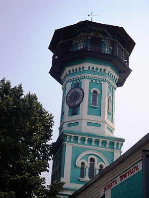 Oleksandriia - Fire depot tower