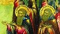Преподобномученики Григорий и Кассиан Авнежские. Фрагмент иконы «Спас Вседержитель с предстоящими святыми».jpg
