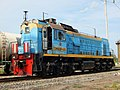 ТЭМ18ДМ-436, Россия, Самарская область, станция Сызрань (Trainpix 204163).jpg