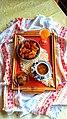 Традиционала печена тиква, прекрасно лупено слатко од сливи, домашен сок од кајсии и кафе.jpg