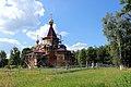 Царква Узвышэння Святога Крыжа на рэканструкцыі - panoramio.jpg