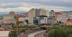 Centro da cidade de Ulan-Ude