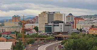 City in Buryatia, Russia