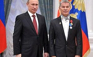 "Oleg Gazmanov - Oleg Gazmanov awarded with the Order ""For Merit to the Fatherland""» IV degree, 26 December 2012"