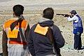 مسابقات تیر اندازی به اهداف پروازی در شهر فرودگاهی قم Shooting sports- Iran - Qom 26.jpg