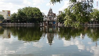 Virudhunagar - Temple tank of Mariamman temple in Virudhunagar