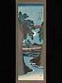 「甲陽猿橋之図」-The Monkey Bridge in Kai Province (Kōyō Saruhashi no zu) MET DP335039.jpg