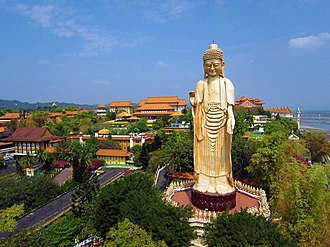 Fo Guang Shan - A view of Fo Guang Shan Monastery, the headquarters of the Fo Guang Shan Buddhist Order
