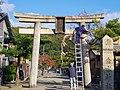 垂水神社の鳥居 吹田市垂水町1丁目 2013.12.01 - panoramio.jpg