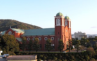Immaculate Conception Cathedral, Nagasaki Church in Nagasaki, Japan