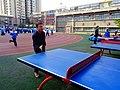 雁塔 陕师大附中分校在打乒乓球 21.jpg