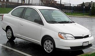 Toyota Platz - Image: 00 02 Toyota Echo coupe