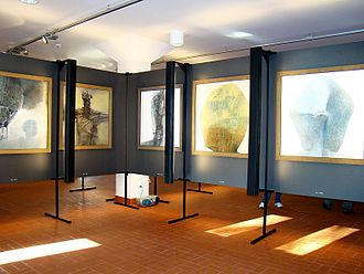Sanok Castle - The works of the artist will have been presented in the permanent Gallery of Zdzislaw Beksinski since the spring of 2012.