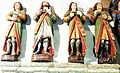 003 Quatre des Sept-Saints au-dessus de l'autel principal.JPG
