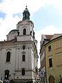006 Plaça de Franz Kafka i església de Sant Nicolau.jpg
