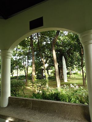 Washington SyCip Park - Image: 02washingtonsycippar kgazebo