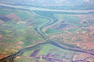 Tisza - The Tisza joins the Danube.