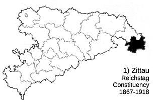Zittau Reichstag constituency