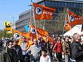 1. Mai 2013 in Hannover. Gute Arbeit. Sichere Rente. Soziales Europa. Umzug vom Freizeitheim Linden zum Klagesmarkt. Menschen und Aktivitäten (196).jpg