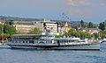 100 Jahre Dampfschiff 'Stadt Rapperswil' - Tag der offenen Dampfschiff-Türe am Bürkliplatz - Alpenquai 2014-04-26 17-49-07 (P7700).JPG