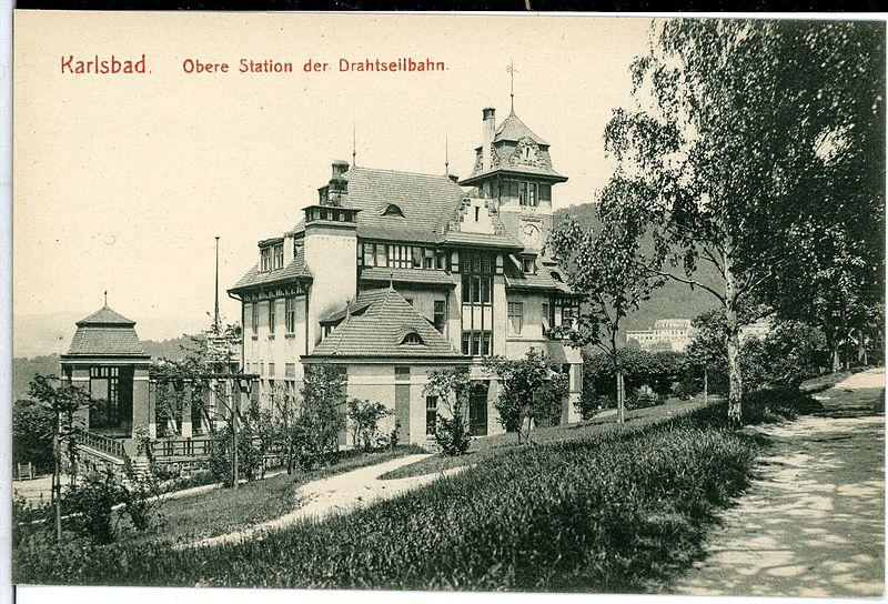 File:10561-Karlsbad-1909-Obere Station der Drahtseilbahn-Brück & Sohn Kunstverlag.jpg