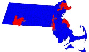 Massachusetts Senate - Composition by municipality in the 187th General Court.