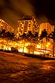 10 Second Exposure, Waikiki, Oahu, Hawaii - panoramio.jpg