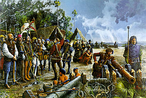 History of the US Army National Guard - First militia muster in what is now Continental United States, 16 September 1565, St. Augustine, Florida.