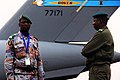 130125-F-JB022-011 A Malian soldier and another African soldier stand guard on the flightline, Bamako, Mali.jpg
