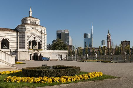 Cimitero Monumentale in Mailand