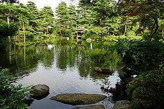 Shibata, Niigata - Image: 160716 Shimizuen Shibata Niigata pref Japan 29s 3