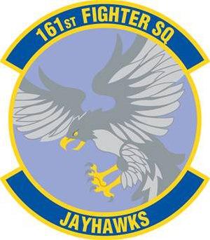 161st Intelligence Squadron - 161st Fighter Squadron emblem
