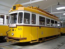 Музей общественного транспорта Будапешта.