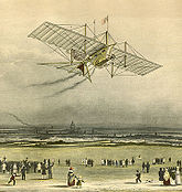 1843 engraving of the Aerial Steam Carriage.jpg