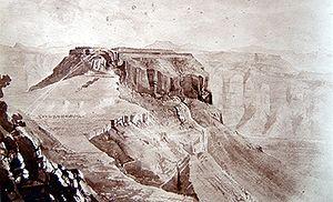1867-68 Abyssinia Expedition, 40 Magdala plateau.jpg
