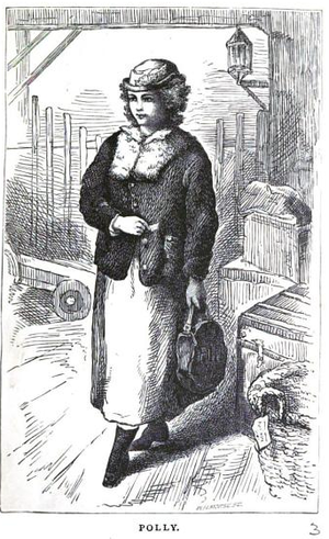 An Old-Fashioned Girl - Polly (Roberts Bros., 1870)