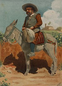 1879, El ingenioso hidalgo D. Quijote de la Mancha, Sancho Panza, Mestres (cropped).jpg