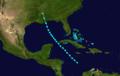 1879 Atlantic tropical storm 5 track.png