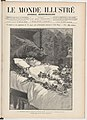 1885-05-30, Le Monde illustré, La chambre mortuaire de Victor Hugo, le 24 mai, a 10 heures du matin, Samuel Urrabieta.jpg