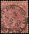 1892 TWO CENTS Mauritius circle Yv79 SG118.jpg