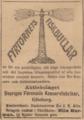 1899-05-08. Annons för AB Sveriges förenade konservfabriker i Svenska Dagbladet.png
