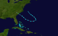 1908 Atlantic tropical storm 10 track.png