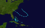 1908 Atlantic tropical storm 10 track.png