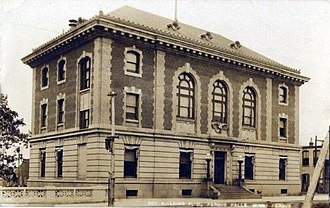 Otter Tail County, Minnesota - Image: 1912Federal Courthouse Post Office Fergus Falls MN