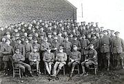 1918 3.MGK RIR6 Lt.Strauss Lt.Krummheuer Off.Stv.Schmitt