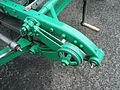 1923 Aston Martin Razor Blade team car in Morges 2013 - Right friction disk shock absorber closeup.jpg
